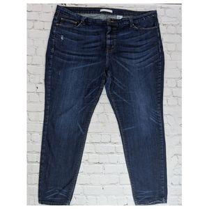 eunina Jeans - eunina Classic Skinny Mid Rise Regular Blue Jeans